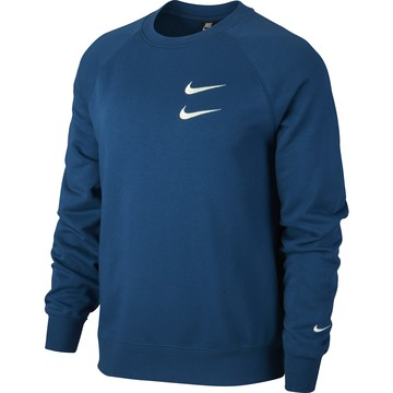 Sweat Nike Sportswear Swoosh bleu 2020/21