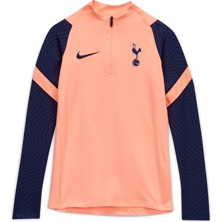 Sweat zippé junior Tottenham rose bleu 2020/21