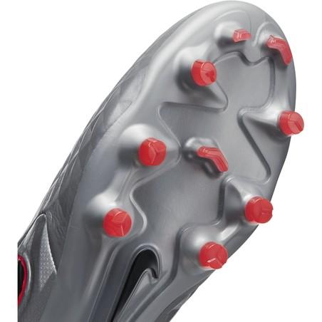 Nike Tiempo Legend 8 Pro FG gris rouge