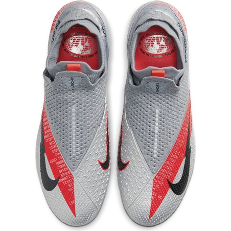 Nike Phantom Vision 2 Elite FG gris rouge