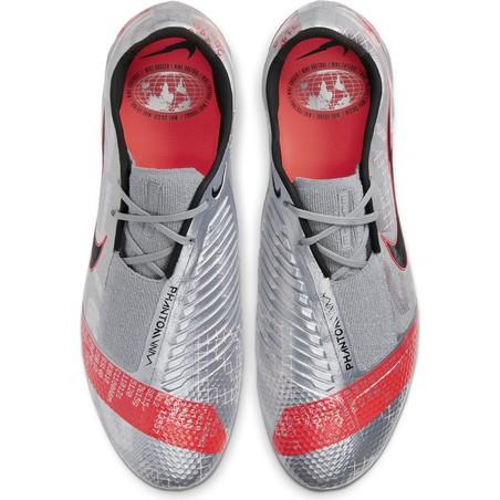 Nike Phantom Venom Elite FG gris rouge