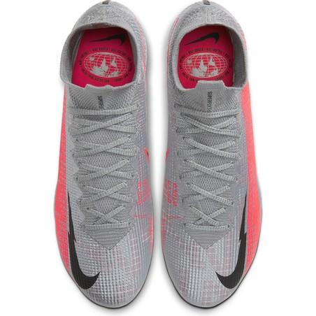 Nike Mercurial Superfly VII Elite FG gris rouge