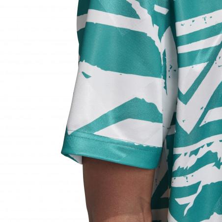 Maillot entraînement adidas Tango Advanced vert blanc