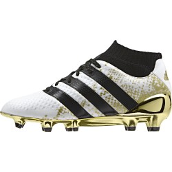 ACE 16.1 PRIMEKNIT FG junior blanc et or