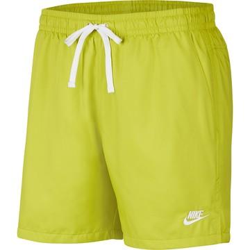 Short Nike Microfibre jaune