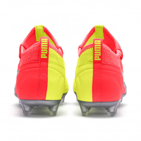 Puma One 20.3 FG jaune rose