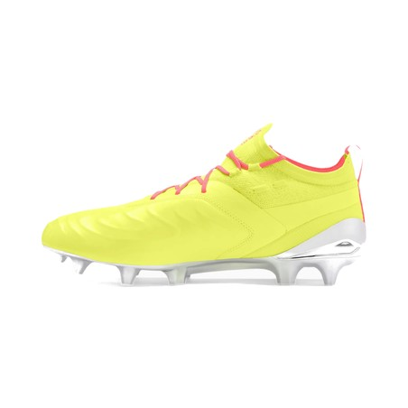 Puma One 20.1 FG. jaune rose