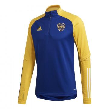 Sweat zippé Boca Juniors bleu jaune 2020