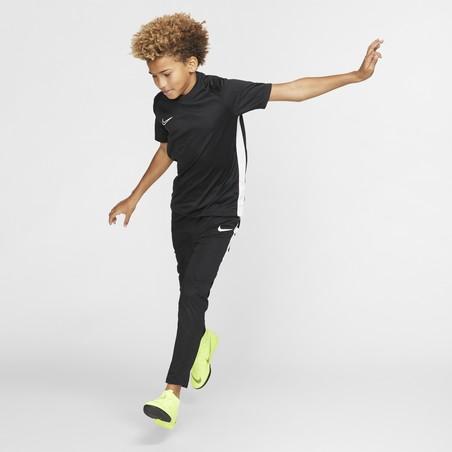 Maillot entraînement junior Nike noir blanc