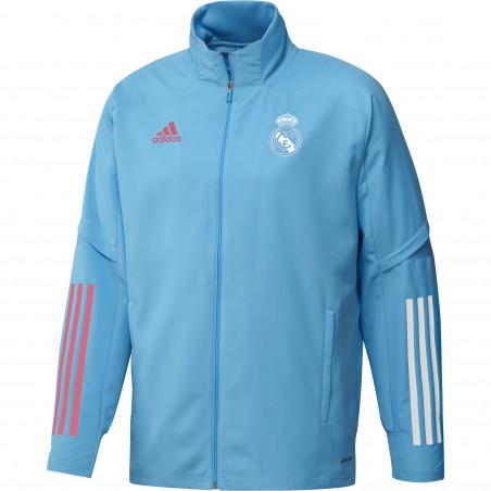 Veste entraînement Real Madrid bleu clair 2020/21
