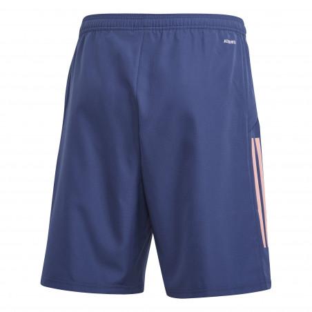 Short entraînement Arsenal woven bleu 2020/21