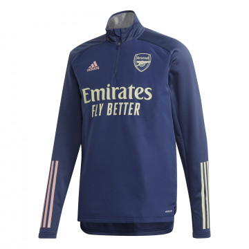 Sweat col montant Arsenal bleu 2020/21