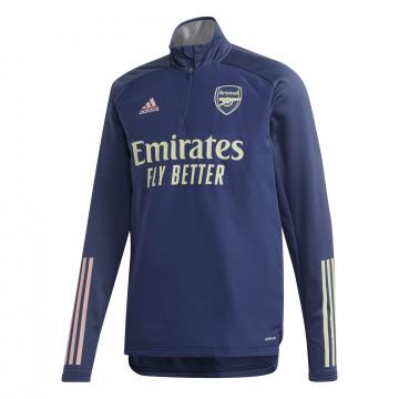 Sweat col montant Arsenal bleu 2020/21