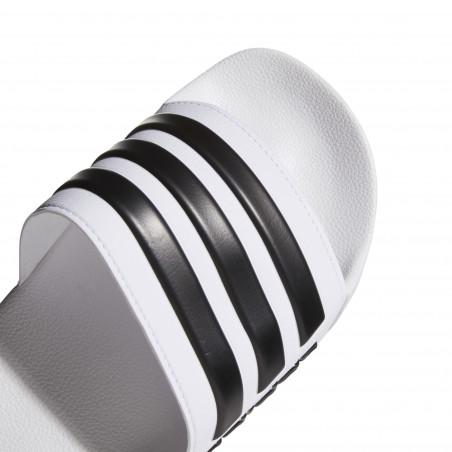 Sandales ADILETTE blanc noir