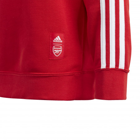 Sweat junior Arsenal rouge 2020/21