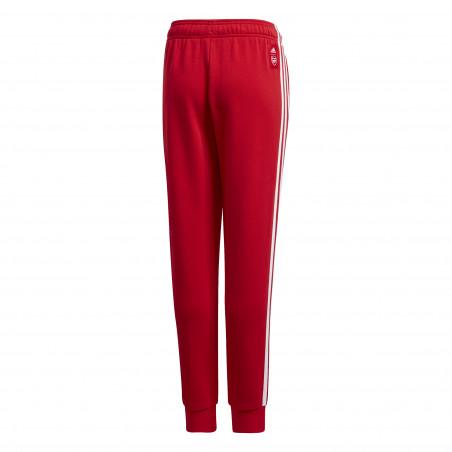 Pantalon survêtement junior Arsenal rouge 2020/21