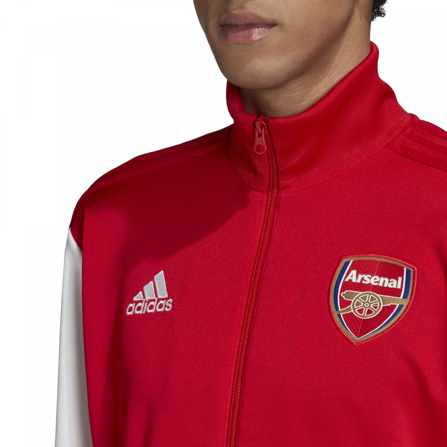 Veste survêtement Arsenal 3S rouge blanc 202021
