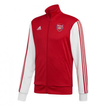 Veste survêtement Arsenal 3S rouge blanc 2020/21