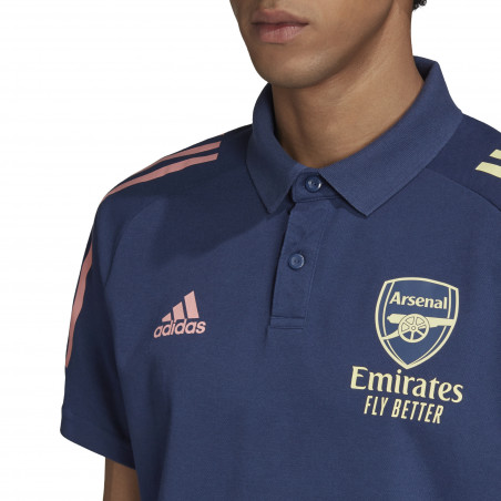 Polo Arsenal bleu 2020/21