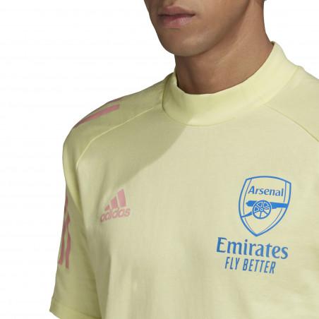 T-shirt Arsenal jaune 2020/21