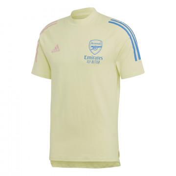 T-shirt Arsenal jaune 2020/21