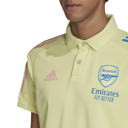 Polo Arsenal jaune 2020/21