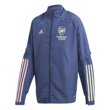 Veste entraînement junior Arsenal bleu 2020/21