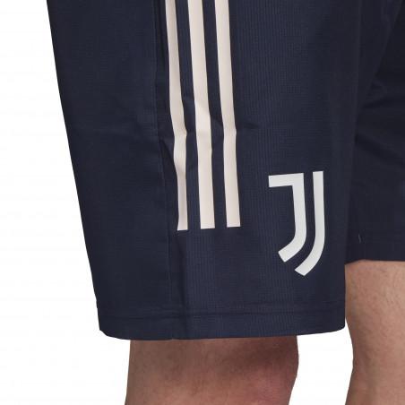 Short entraînement Juventus microfibre bleu 2020/21