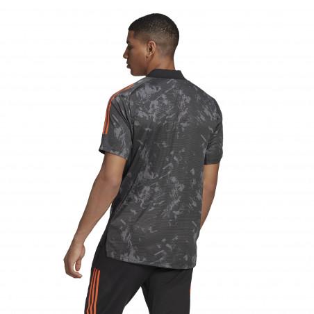 Maillot entraînement Juventus Europe noir orange 2020/21