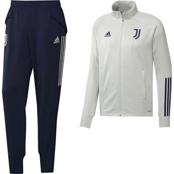 Ensemble survêtement Juventus blanc bleu 2020/21