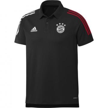 Polo Bayern Munich noir 2020/21