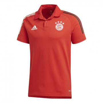 Polo Bayern Munich rouge 2020/21