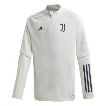 Sweat zippé junior Juventus blanc 2020/21
