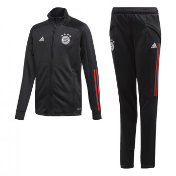 Ensemble survêtement junior Bayern Munich noir 2020/21