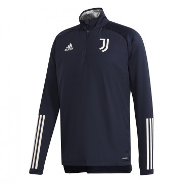 Sweat zippé col montant Juventus bleu foncé 2020/21