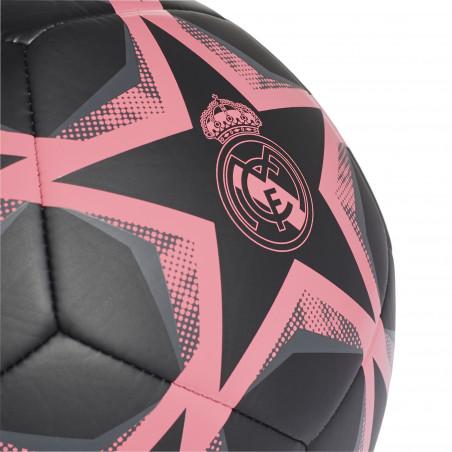 Ballon Real Madrid Ligue des Champions noir rose 2020/21