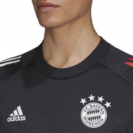 Maillot entraînement Bayern Munich noir 2020/21