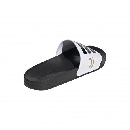 Sandales Juventus noir blanc 2020/21