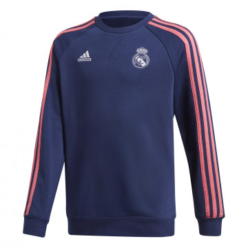 Sweat junior Real Madrid bleu rose 2020/21
