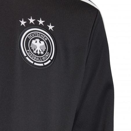 Veste survêtement Allemagne 3S noir blanc 2020