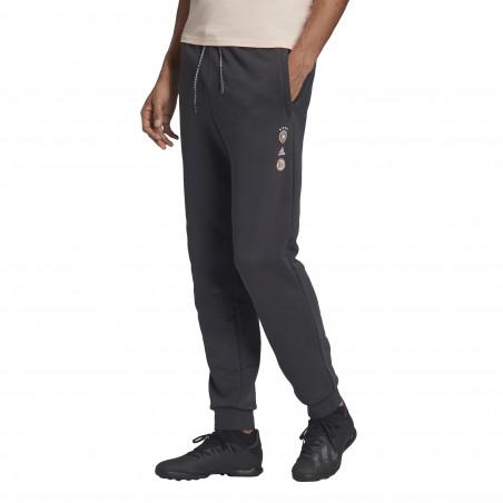 Pantalon survêtement Allemagne SSP noir rose 2020