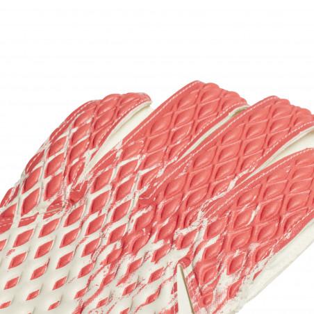 Gants gardien adidas Predator blanc rouge