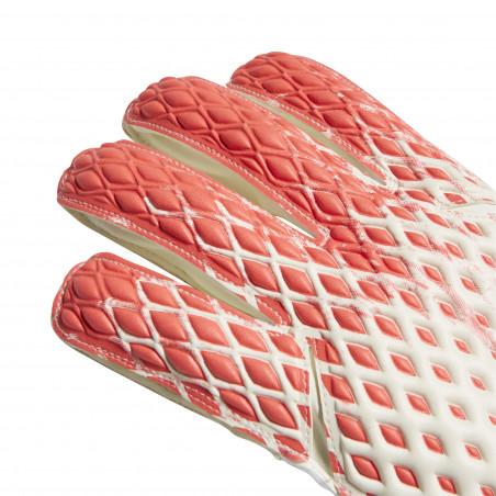 Gants Gardien adidas Predator rouge