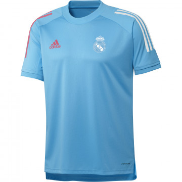 Maillot entraînement Real Madrid bleu clair 2020/21