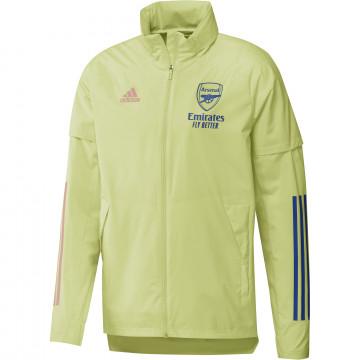 Coupe vent Arsenal jaune 2020/21