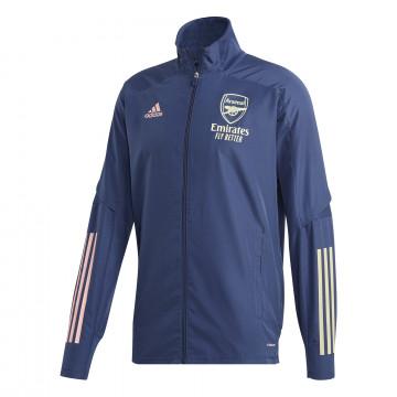 Veste entraînement Arsenal bleu 2020/21