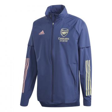 Veste imperméable Arsenal bleu 2020/21