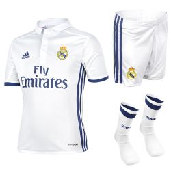 Ensemble enfant complet Real Madrid domicile 2016 - 2017