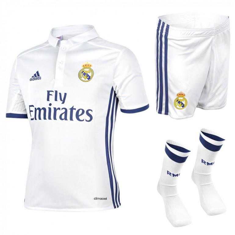 Ensemble enfant complet Real Madrid domicile 2016 - 2017