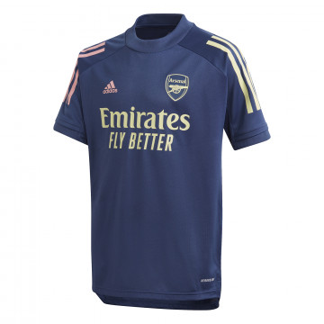 Maillot entraînement junior Arsenal bleu 2020/21
